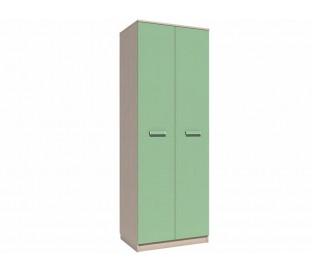 «Рико Модерн» НМ-013.02-03 Шкаф 2-дверный (гл. 574) фасад зелёный