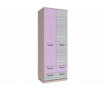 «Рико Модерн» НМ-013.02-03М Шкаф 2-дверный с ящиками (гл. 574) фасад ирис