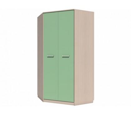 «Рико Модерн» НМ-013.04-04 Шкаф угловой 2-дверный фасад зелёный