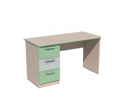 «Рико Модерн» НМ-011.47-01М Стол письменный фасад зелёный