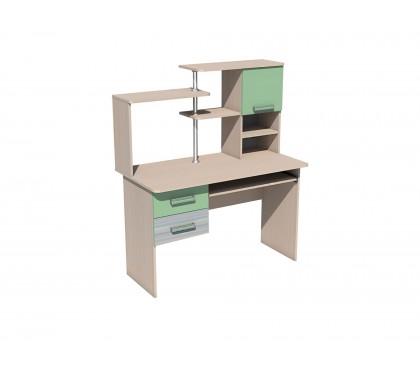 «Рико Модерн» НМ-011.77 Стол для компьютера фасад зелёный