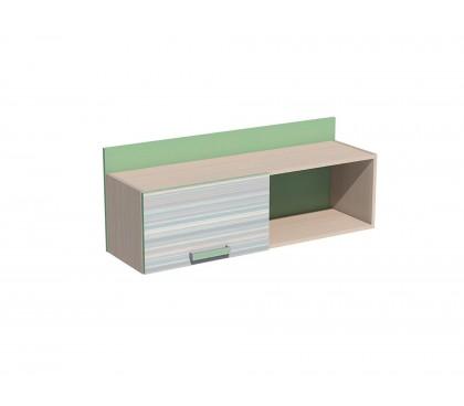 «Рико Модерн» НМ-011.38 Полка с дверкой фасад зелёный