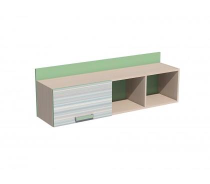 «Рико Модерн» НМ-011.38-01 Полка фасад зелёный