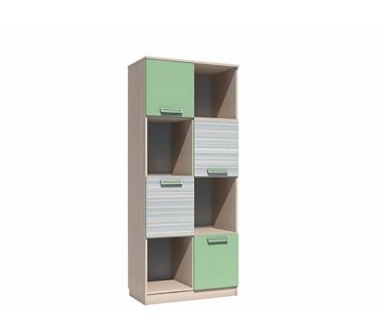 «Рико Модерн» НМ-009.06М Шкаф для книг фасад зелёный