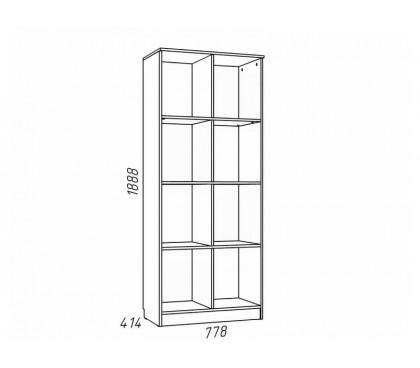 «Рико Модерн» НМ-009.06М Шкаф для книг наполнение